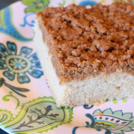 guest post…gluten free vegan coffee cake