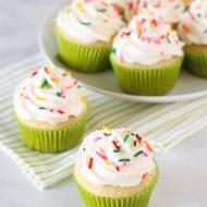 gluten free vegan vanilla cupcakes