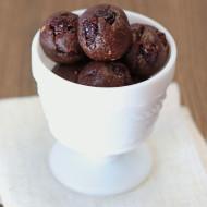 dark chocolate cherry cookie dough bites