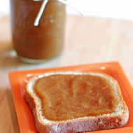 peach apple butter + kitchenaid hand blender review