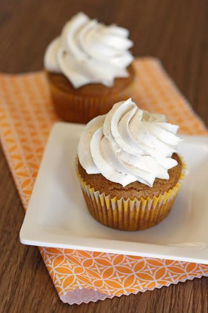 Pumpkin Cupcake Recipes gluten free vegan pumpkin spice cupcakes - sarah bakes gluten free