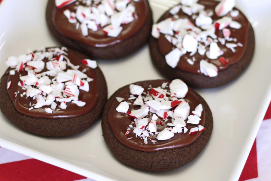 chocolate peppermint cookies2