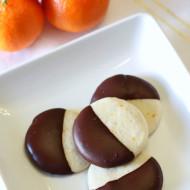 gluten free vegan chocolate dipped clementine sugar cookies + cuties giveaway