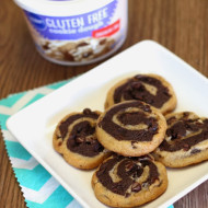 gluten free chocolate chip pinwheel cookies