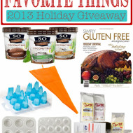 sarah's favorite things 2013 holiday giveaway!