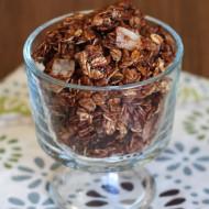 gluten free chocolate coconut granola