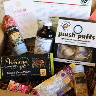 g-free foodie box club and giveaway