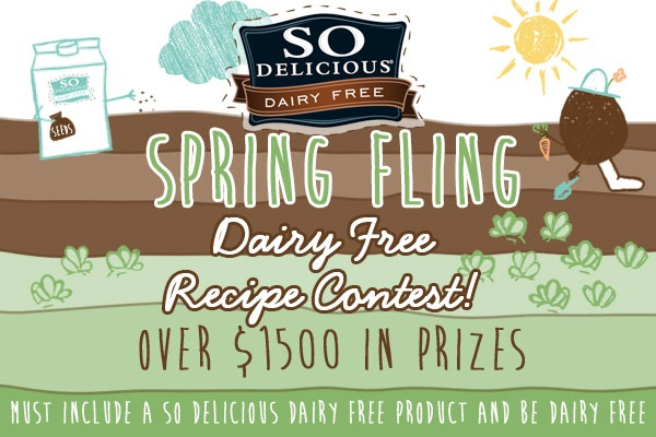 Spring Fling Dairy Free Recipe Contest