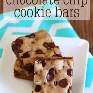 guest post…gluten free vegan chocolate chip cookie bars