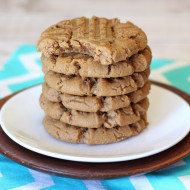 gluten free vegan soft peanut butter cookies