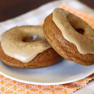 gluten free vegan pumpkin spice latte donuts