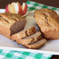 gluten free vegan mini cinnamon apple loaves