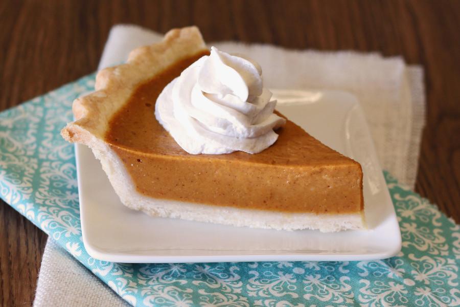 Gluten Free Vegan Classic Pumpkin Pie. The perfect smooth, creamy texture we all love in a classic pumpkin pie.