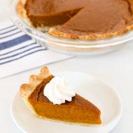 gluten free vegan pumpkin pie