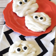 gluten free vegan mummy cookies