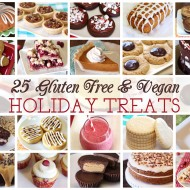 25 gluten free vegan holiday treats!
