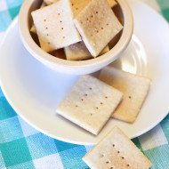 gluten free vegan crackers
