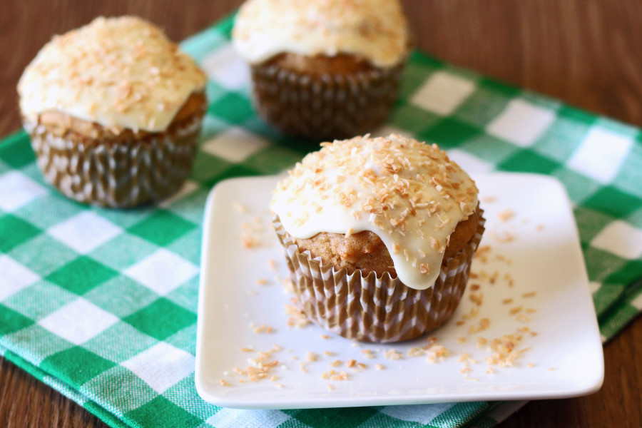 gluten free vegan carrot coconut morning glory muffins2