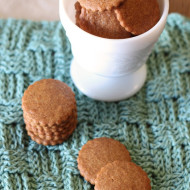 gluten free vegan mini graham crackers