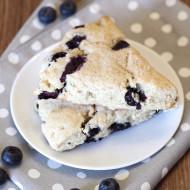 gluten free vegan blueberry scones