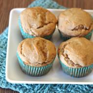gluten free vegan peanut butter banana muffins