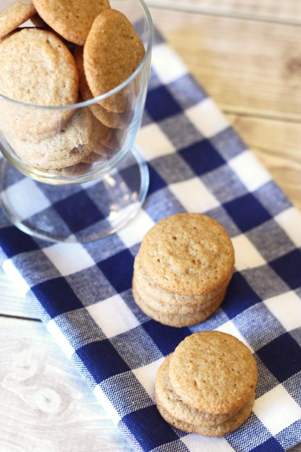 gluten free vegan vanilla wafer cookies