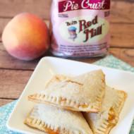 gluten free vegan peach hand pies