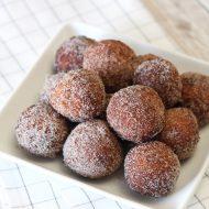 gluten free vegan cinnamon sugar donut holes