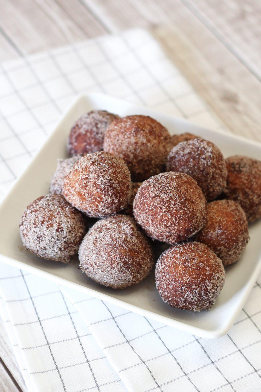 Gluten Free Vegan Cinnamon Sugar Donut Holes Sarah Bakes