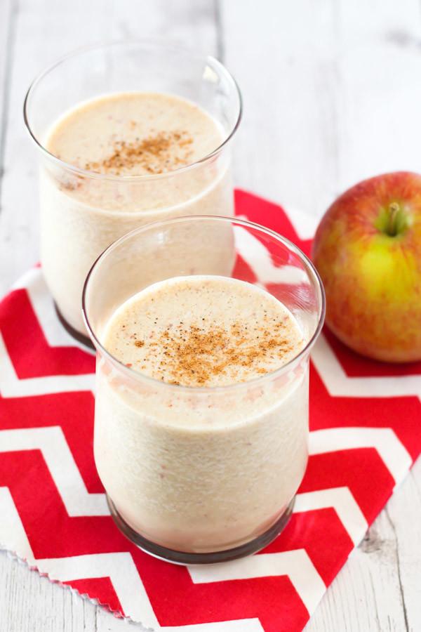 dairy free apple pie smoothie