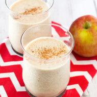 dairy free apple pie  smoothie