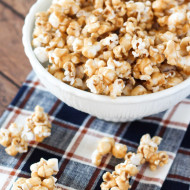 dairy free caramel corn