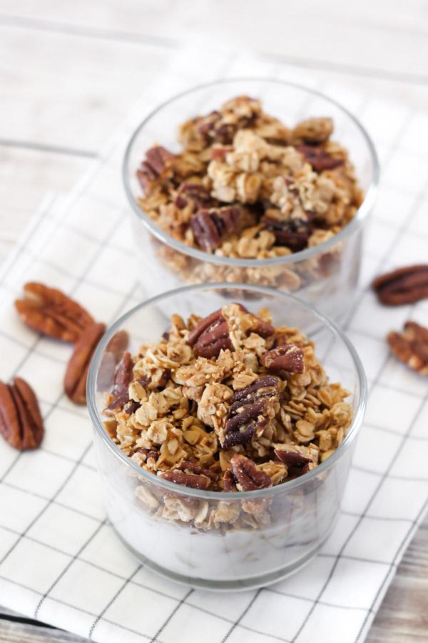 gluten free maple pecan granola2