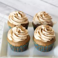 gluten free vegan dirty chai cupcakes
