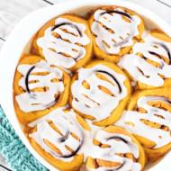 gluten free vegan pumpkin cinnamon rolls