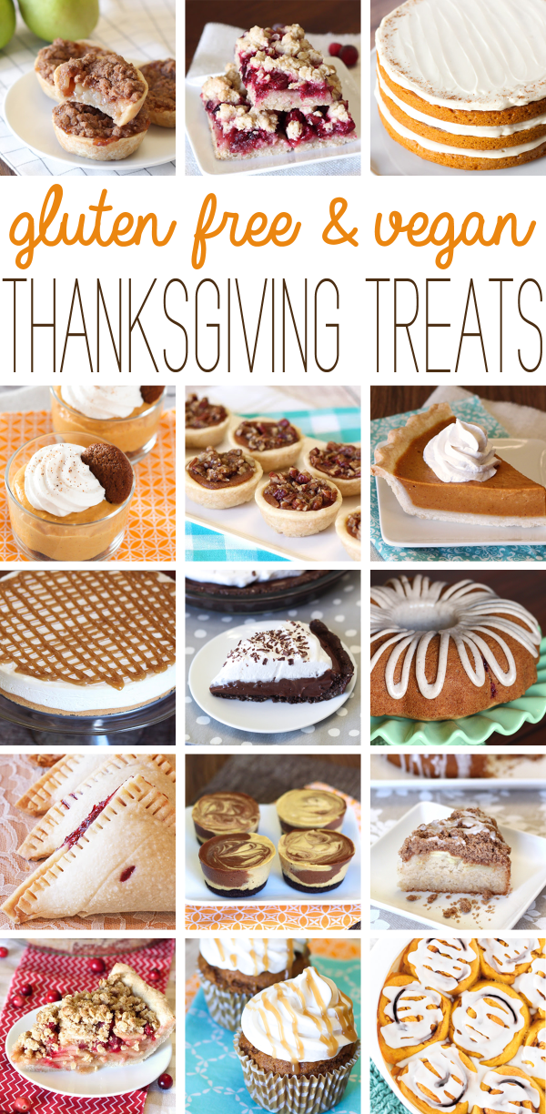 gluten free vegan thanksgiving desserts