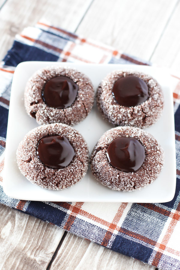 gluten free vegan chocolate thumbprint cookies2