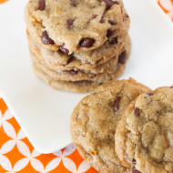 gluten free vegan orange chocolate chip cookies + $50 target gift card giveaway!
