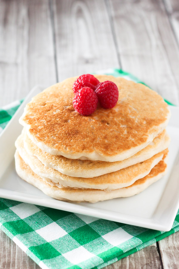 gluten free vegan pancakes sarah bakes gluten free. Black Bedroom Furniture Sets. Home Design Ideas