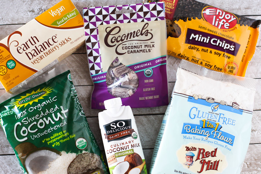 gluten free vegan samoa cookies and allergen free baking bundle giveaway!
