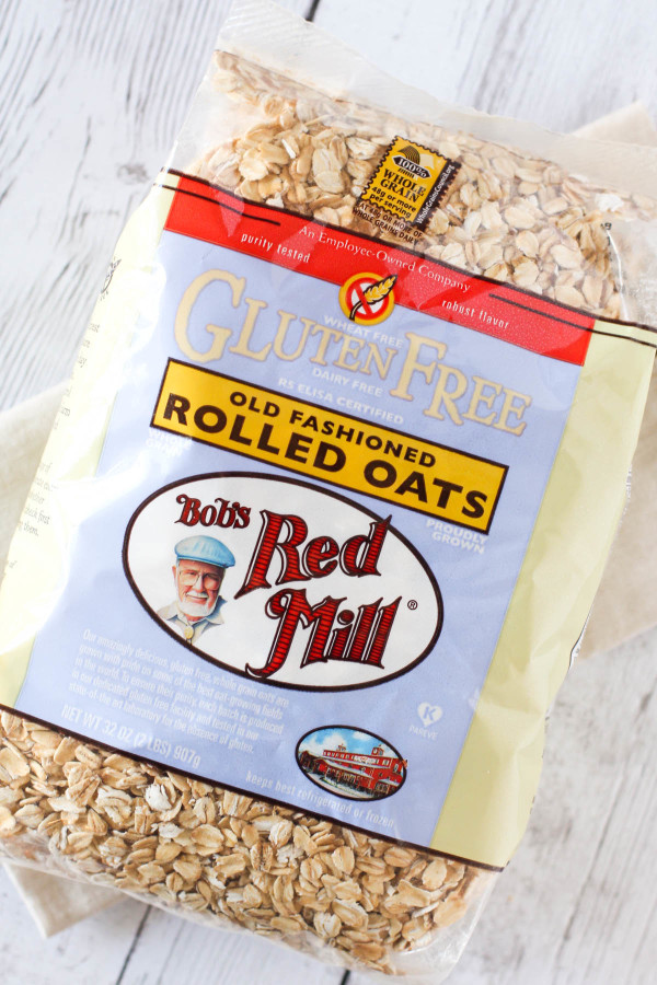 Bob's Red Mill Gluten Free Rolled Oats makes the best homemade granola!
