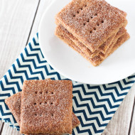 gluten free vegan cinnamon sugar graham crackers