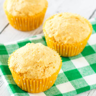 gluten free vegan sweet corn muffins
