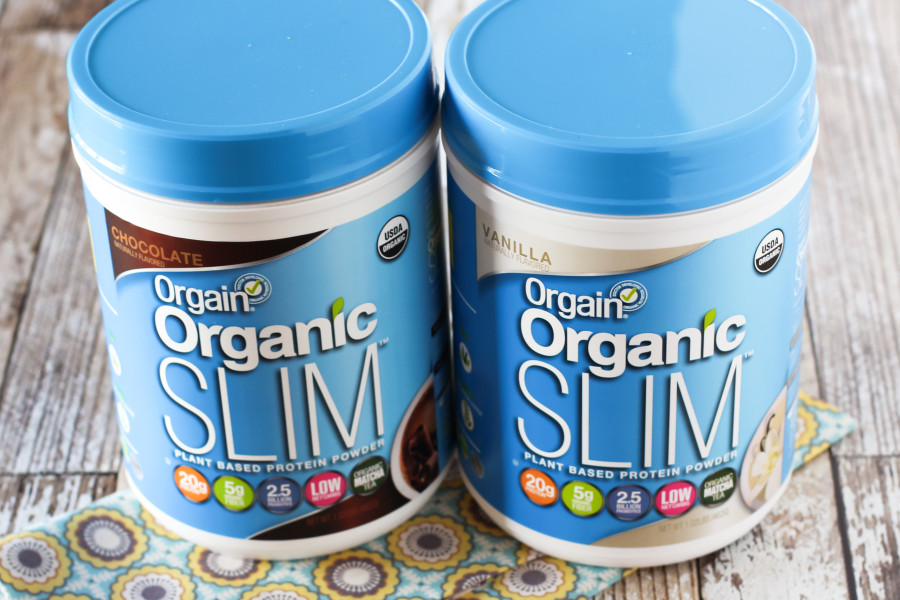 Organ Organic Slim Plant Based Protein Powder. Delicious, smooth and oh so creamy!