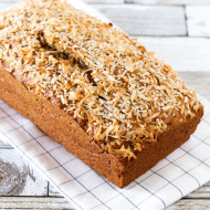 gluten free vegan coconut banana bread