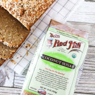 gluten free vegan coconut banana bread