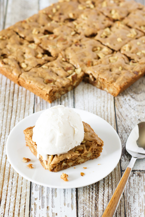 Blondies Made With Cake Mix