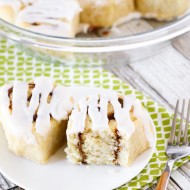 gluten free vegan quick cinnamon roll biscuits