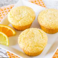 gluten free vegan sunshine citrus muffins