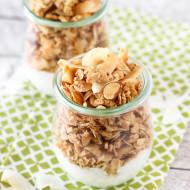 gluten free coconutty granola